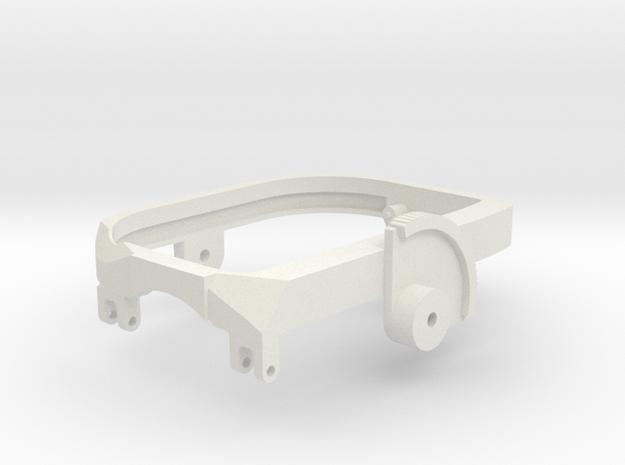 M197 Saddle (Part 2/5) for Vario Cobra 1/7 Scale in White Natural Versatile Plastic