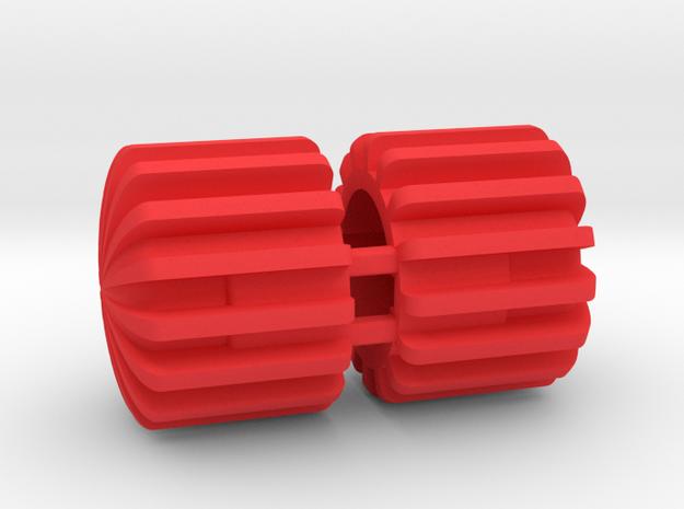BNC Protective Caps (Part BNCCP) in Red Processed Versatile Plastic