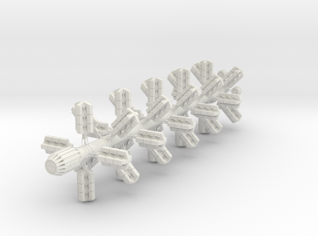 The E Class in White Natural Versatile Plastic