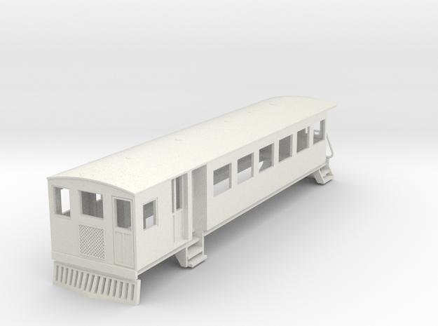 o-76-bermuda-railway-motor-coach in White Natural Versatile Plastic