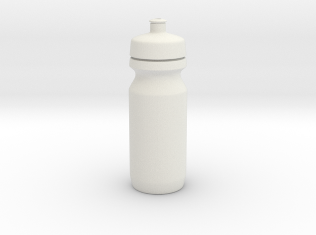 1-3rd Scale Water Bottle 2 in White Natural Versatile Plastic