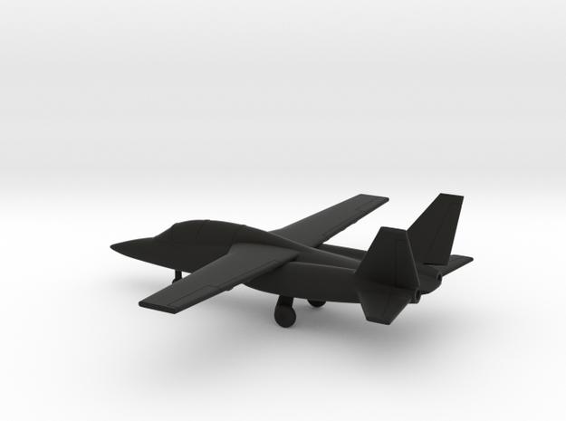 Textron AirLand Scorpion in Black Natural Versatile Plastic: 1:200