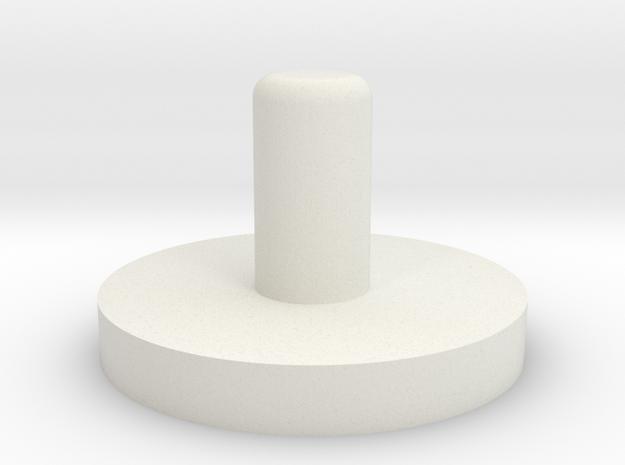 "PRHI Kenner Astromech Head Peg 6"" scale in White Natural Versatile Plastic"