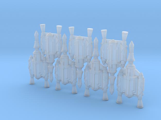 Father's Rocket Jetpacks (x7) in Smoothest Fine Detail Plastic
