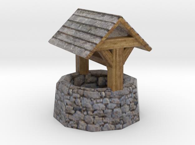 Miniature medieval well