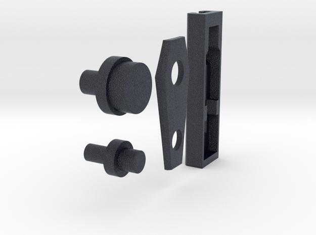 MPP Dual Switch assembly (emitter) in Black PA12