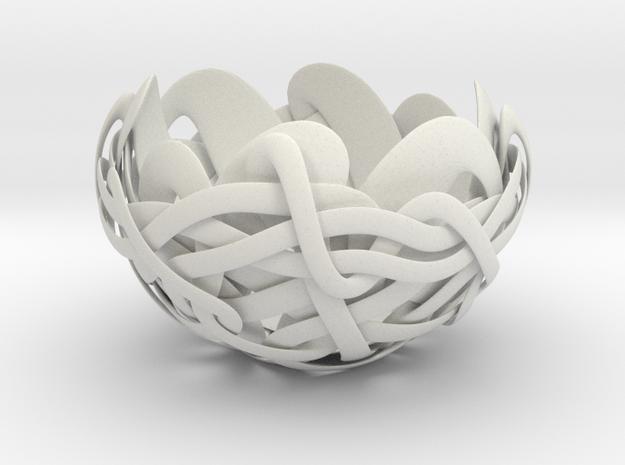 B&G Bowl 01 in White Natural Versatile Plastic
