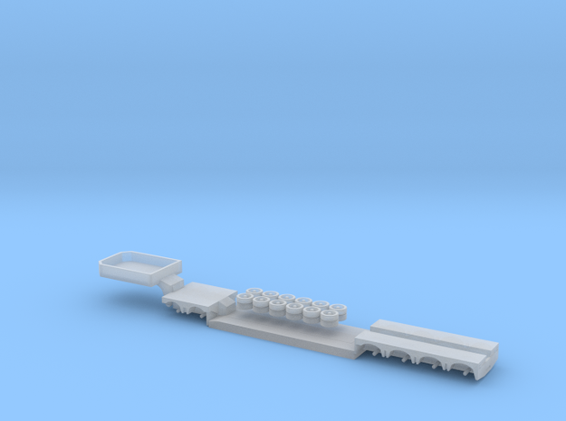 1:160/N-Scale 2+4 Axle Low Loader