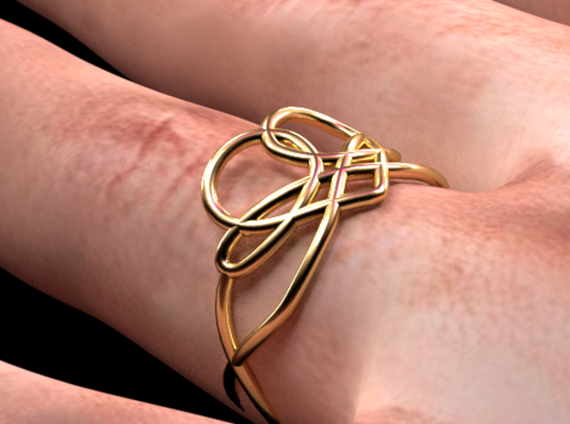 Anillo ella in 14K Yellow Gold