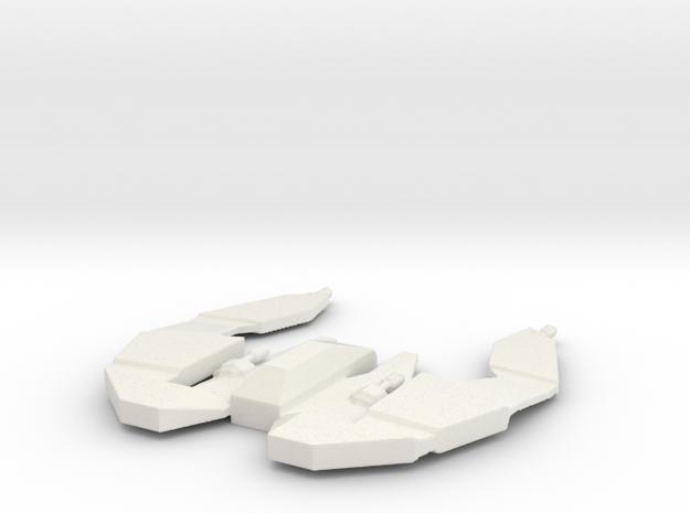BC Aquila spacecraft in White Natural Versatile Plastic