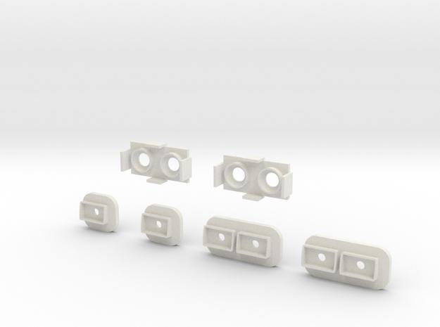 Conjunt llums in White Natural Versatile Plastic