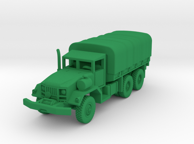 M813a1 Truck w-Tarp & Winch in Green Processed Versatile Plastic: 1:144