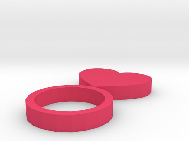 ring in Pink Processed Versatile Plastic