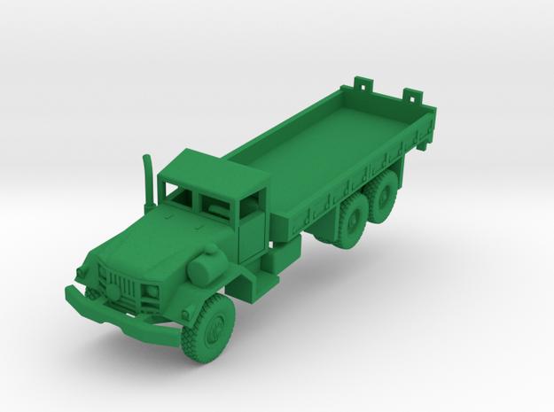 M814 Long Wheelbase Truck in Green Processed Versatile Plastic: 1:160 - N