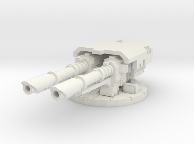 complete cannon mount for laser cannons - 28mm S