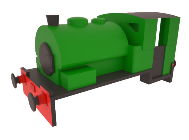"""N gauge Bagnall """"Alfred""""/""""Judy"""" 0-4-0ST in Smooth Fine Detail Plastic"""