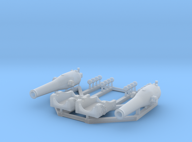 1/192 Dahlgren XI Smoothbore Cannon in Smooth Fine Detail Plastic
