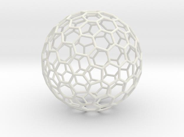 Fullerene-122 in White Natural Versatile Plastic: Extra Large