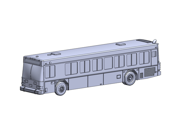 GilligLow40' in Smoothest Fine Detail Plastic: 6mm