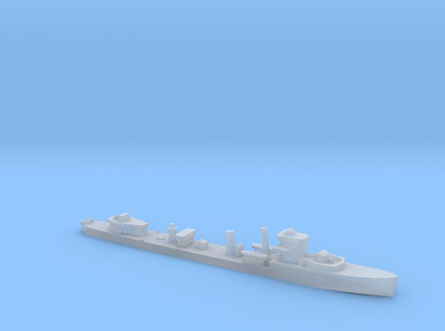 HMS Vega 1:3000 r2 WW2 naval destroyer in Smoothest Fine Detail Plastic
