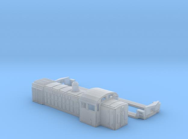 Soviet Locomotive TGM 4  ussr Soviet DISEL Тгм 3 Т in Smoothest Fine Detail Plastic: 1:160 - N