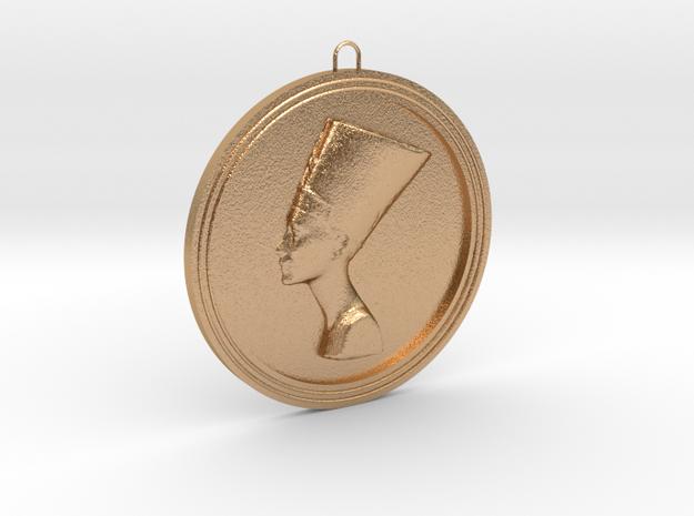 Pendant-Nefertiti in Natural Bronze
