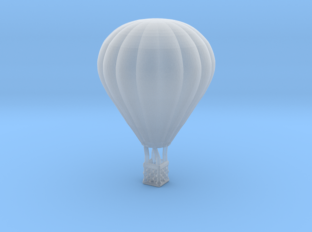 Hot Air Balloon - 1:600 Scale in Smooth Fine Detail Plastic