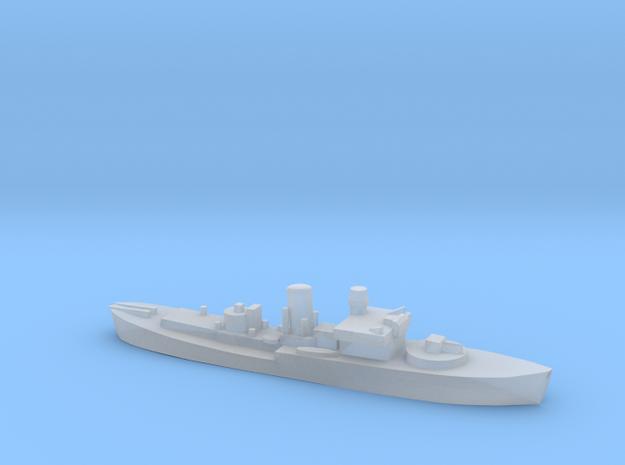Flower Class corvette 1:3000 GBR WW2 naval in Smoothest Fine Detail Plastic