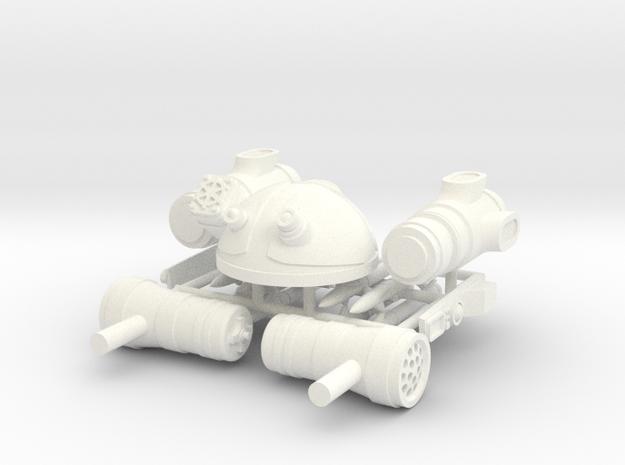 SPACE LEGION STINGER in White Processed Versatile Plastic