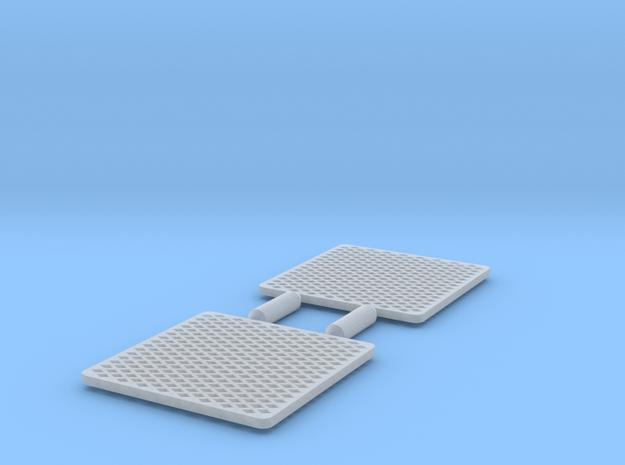 Atlas O Scale F7 Winterization Hatch Screen (flat) in Smoothest Fine Detail Plastic