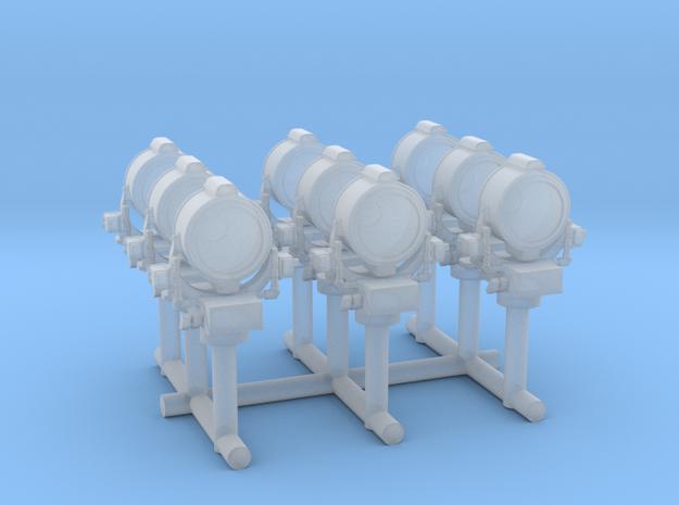 1/350 USN 36 inch Searchlight Set x9