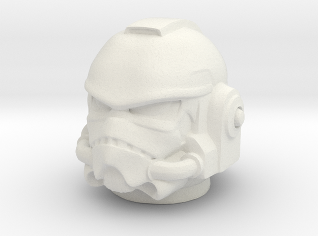 stormarine helmet in White Natural Versatile Plastic