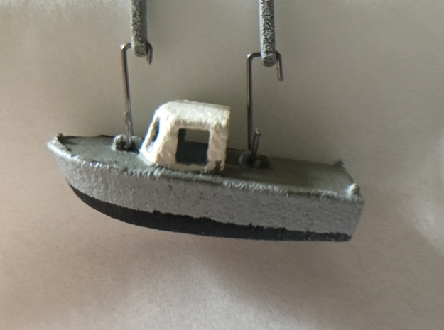 6m tender (1:200) in Smooth Fine Detail Plastic