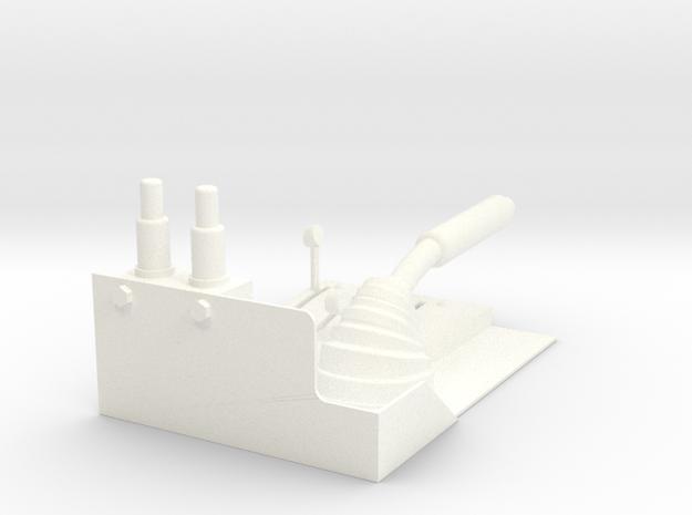 1.10 COLLECTIF LAMA in White Processed Versatile Plastic