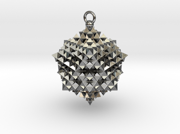 it's a triangular star fractal thing, Bro. in Fine Detail Polished Silver