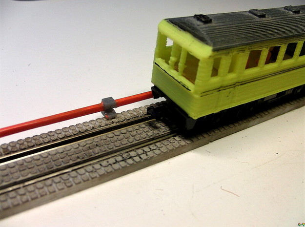 Stromschiene Conductor rail 1:160 Spur N Scale in Smoothest Fine Detail Plastic