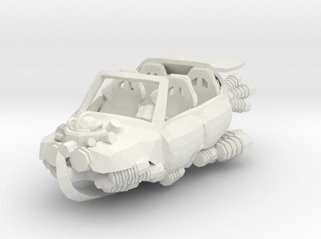 Magitech Luxury Transport in White Natural Versatile Plastic