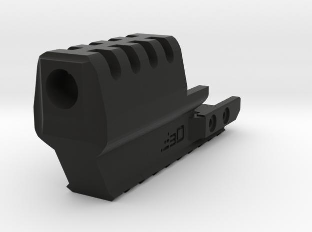 J.W. Frame Mounted Compensator for XDM in Black Natural Versatile Plastic