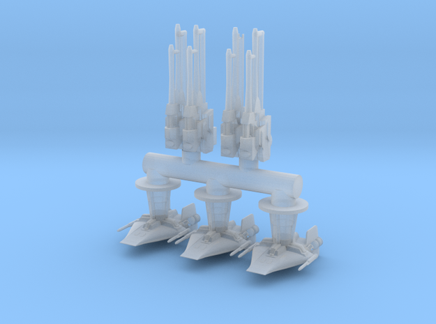 FFG BRUNNER Rebels Clamps and Turrets in Smooth Fine Detail Plastic