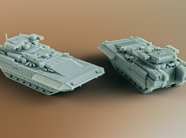 T-15 BMP Armata AIFV Scale: 1:160 in Smooth Fine Detail Plastic