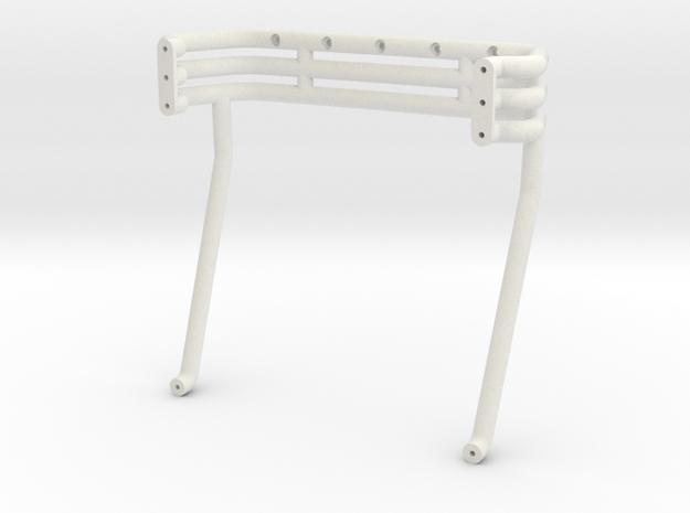 Excaliber Rollbar in White Natural Versatile Plastic