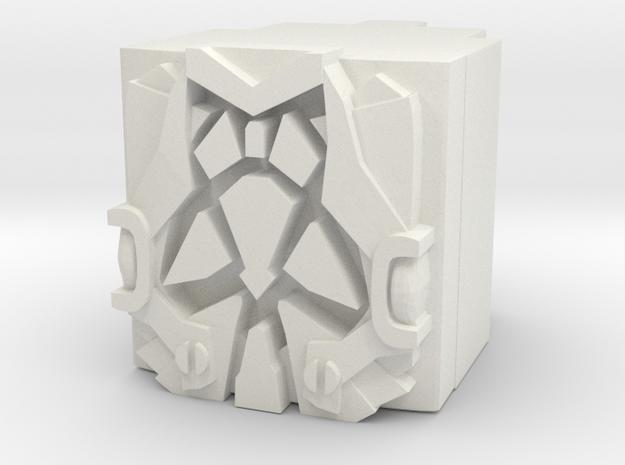 Maximo Prime Power Core in White Natural Versatile Plastic