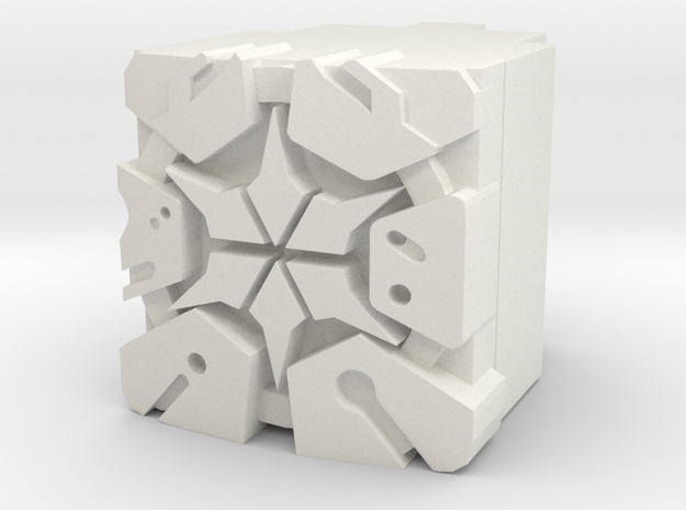 Thirtheenth Prime Power Core in White Natural Versatile Plastic
