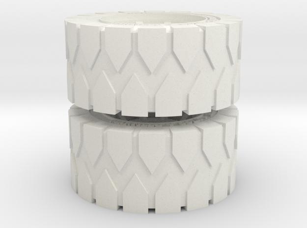 All Terrain Wheels x2 #1 in White Natural Versatile Plastic