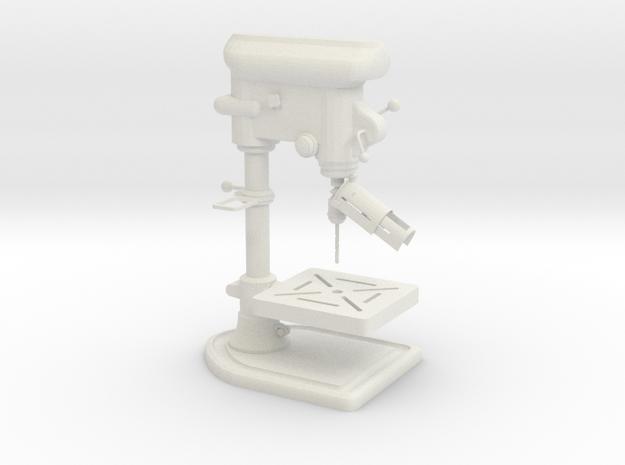 1:14 Tischstandbohrmaschine drill in White Natural Versatile Plastic