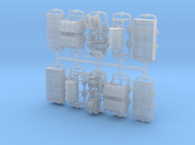 Feldbahn Set1 - TTf 1:120 in Smooth Fine Detail Plastic