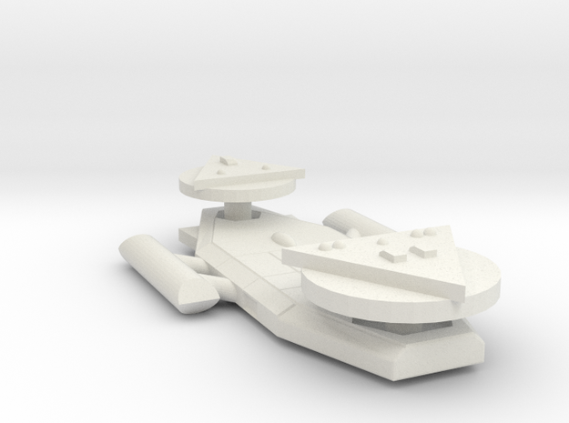 3125 Scale Worb Medium Destroyer MGL in White Natural Versatile Plastic