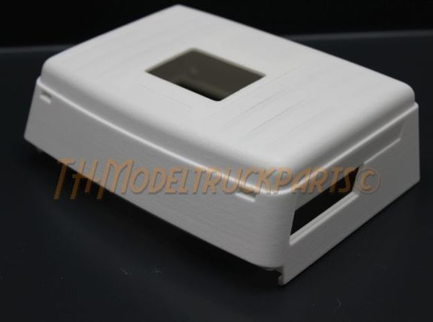 THM 07.1071 Eurocab roof for Tamiya Mercedes in White Processed Versatile Plastic