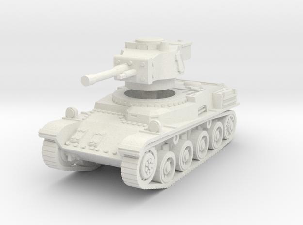 Toldi II Tank scale 1/87 in White Natural Versatile Plastic