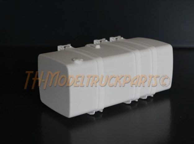 THM 00.5103-118 Fuel tank Tamiya Volvo FH12 in White Processed Versatile Plastic